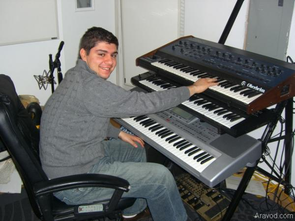 Aram in the Studio.jpg