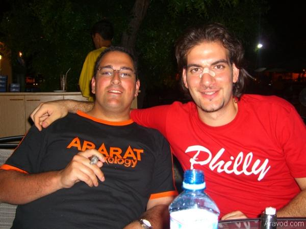 Armen in Armenia with mano.jpg